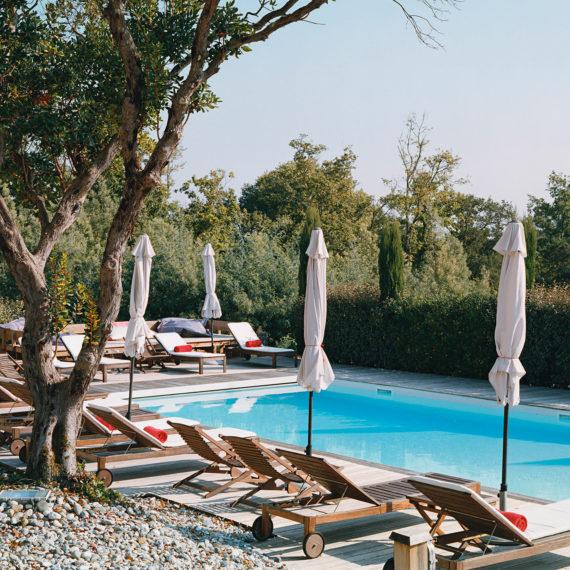 hotel messanges, landes piscine chauffée