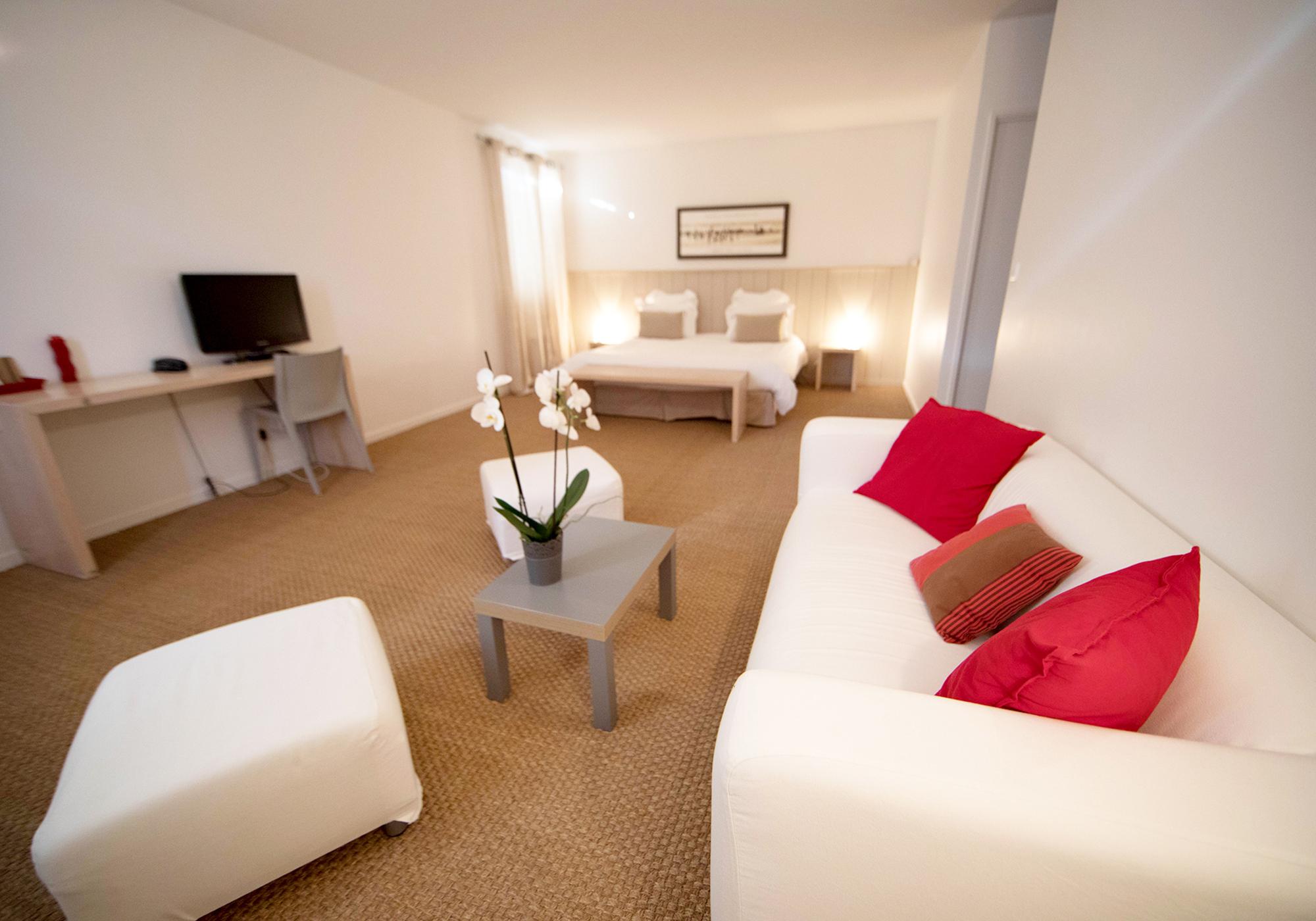 Suite double, Hotel*** Boutique Messanges, Landes