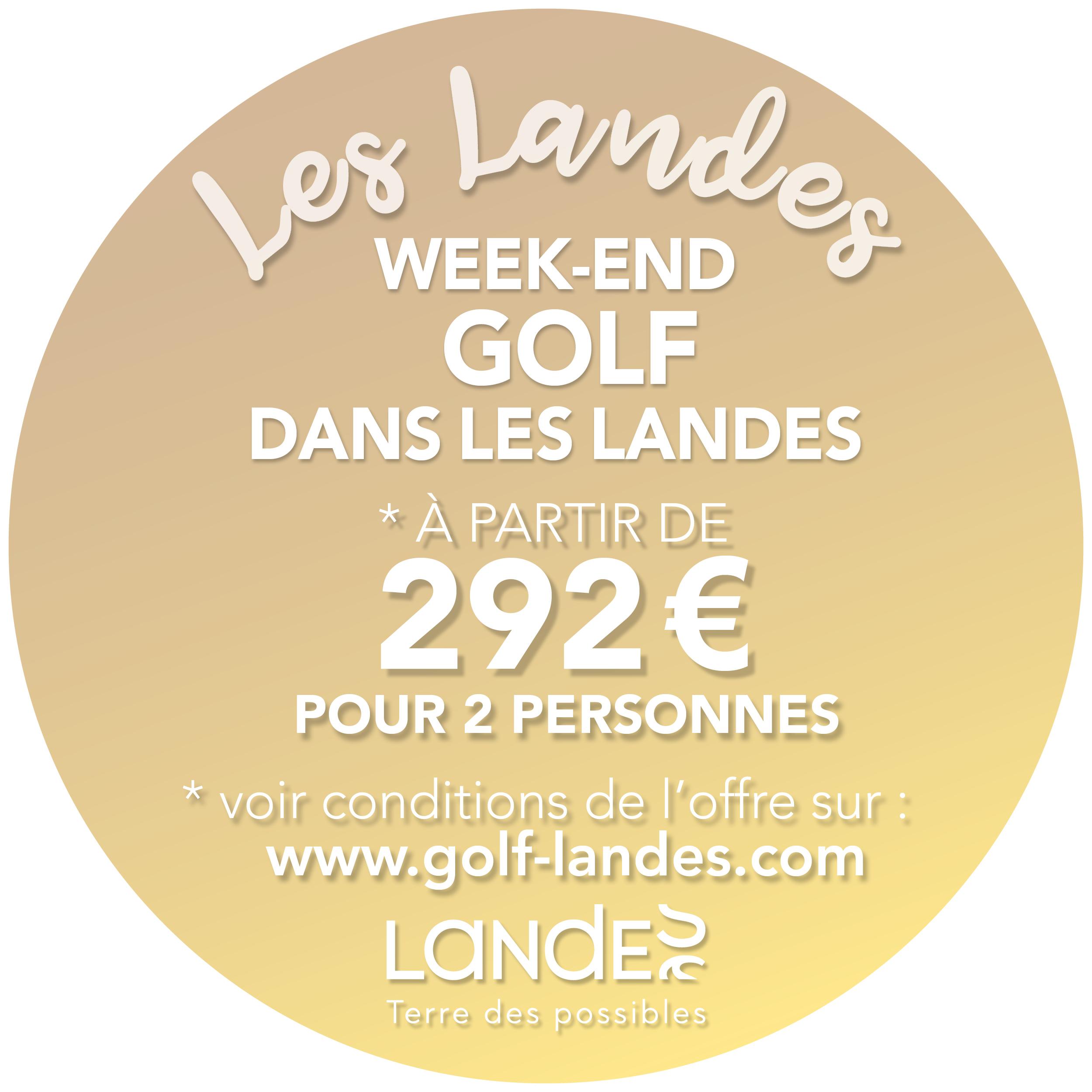 weekend golf landes